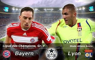 Resultado del Partido Bayern Munich (1) Vs Lyon (0)