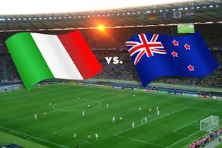 Goles Del Partido Italia vs Nueva Zelanda