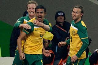 Goles del partido Australia Vs Serbia