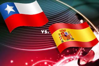 Resultado Partido Chile vs España