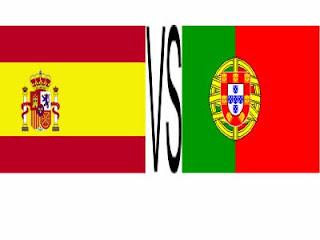 Ver España Vs Portugal Online en Vivo