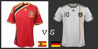 Ver España vs Alemania Online en Vivo