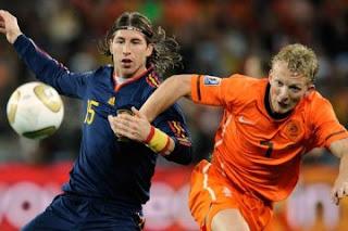 Goles Partido España vs Holanda
