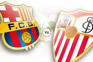 Ver Barcelona Vs Sevilla Online en Vivo – Partido de vuelta Final Super Copa España
