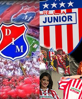 Ver Medellin Vs Junior Online en Vivo - FPC Liga Postobon 7 de Mayo