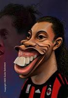 Caricaturas de algunos Futbolistas Famosos