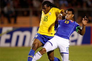 Resultado Partido Colombia ( 1-3 ) Brasil – Suramericano Sub 20 Peru 2011