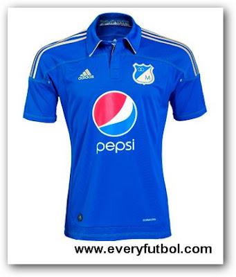 Nueva Camiseta De Millonarios Para El 2011