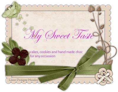 My Sweet Taste