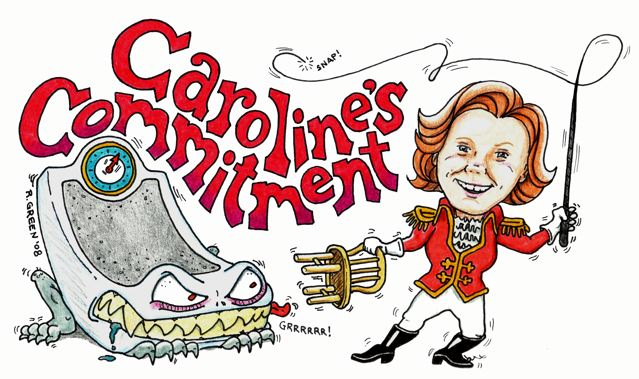 Caroline's Commitment