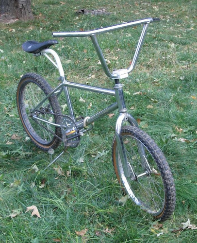 cheap vintage bmx bike with white freestyle tuf-neck