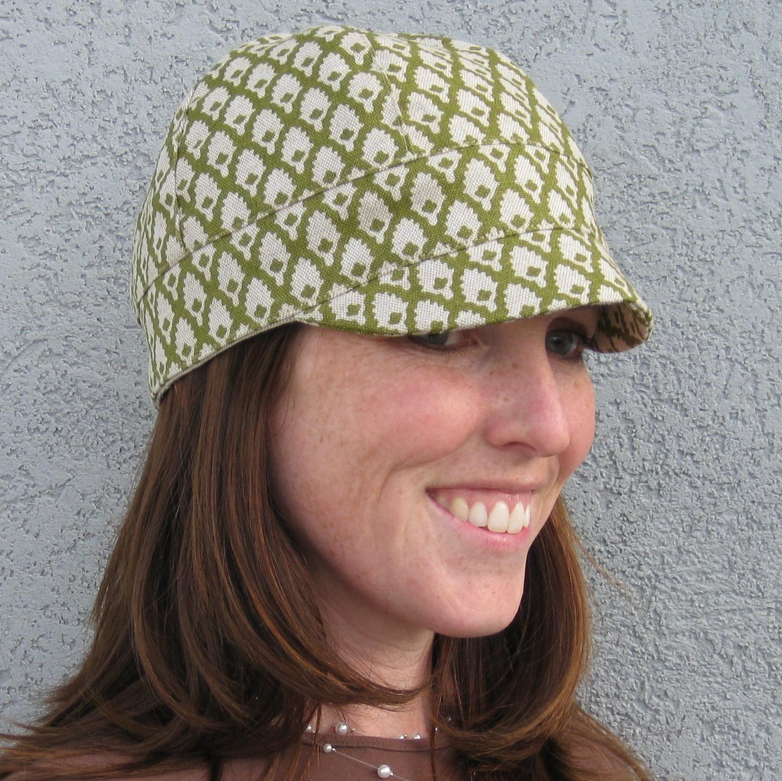 Custom Slipcovers by Shelley  Newsboy hat pattern c344117f36b6