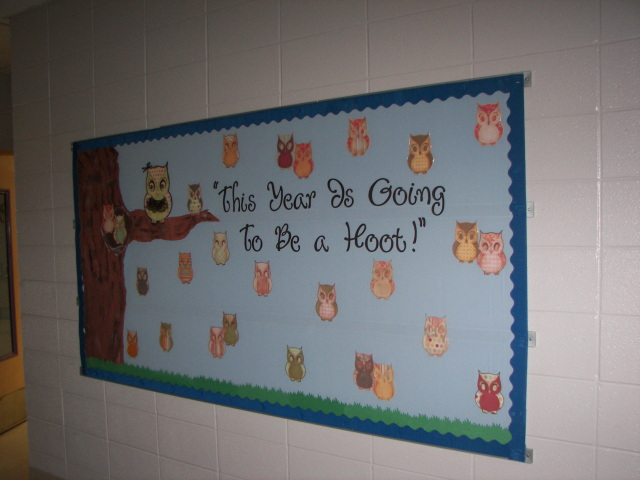 Classroom Bulletin Board Ideas With Owls ~ Fantabulous cricut challenge friday