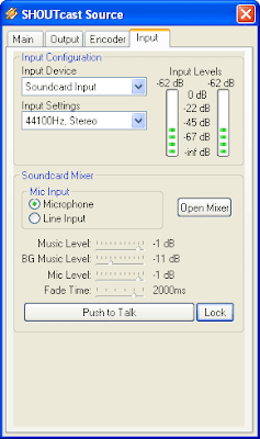 shoutcast setting 8