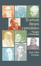 EL ARTÍCULO LITERARIO Y PERIODÍSTICO