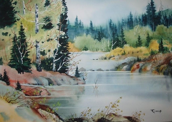 "Tranquility  18"" X 24""     NA"