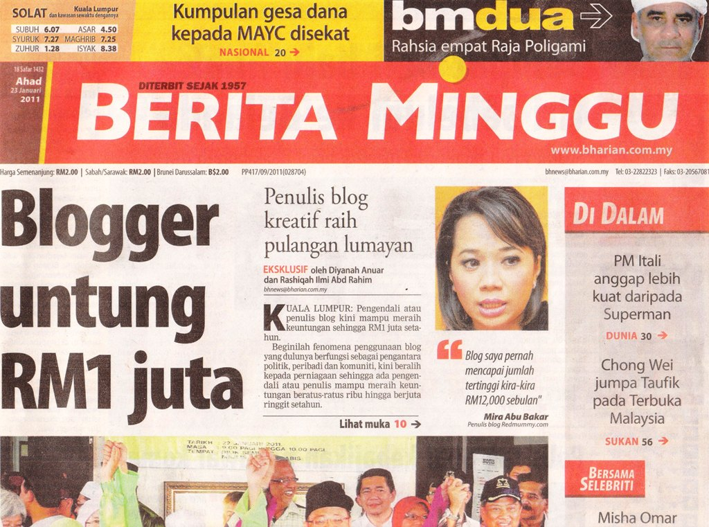 GiLoCatur&#39;s Blog: Wow! &quot;Blogger untung RM1 juta&quot;!