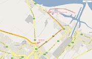 Viniendo desde Capital, la autopista termina en 32 y 120, desde ahí seguir . mapa isla santiago