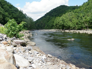 Pigeon River with no water