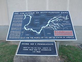 TVA information for the Ocoee dams
