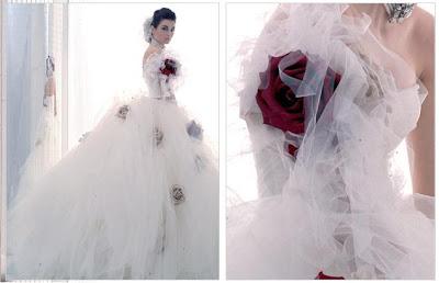 Vestidos de noivas a noiva e o casamento