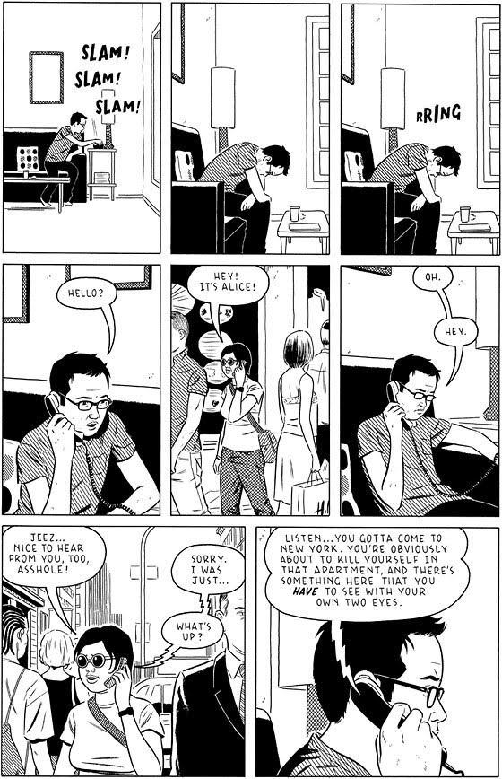 DAVID WASTING PAPER Adrian Tomine