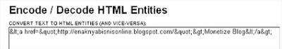 HTML Decode