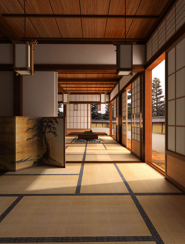 Big bang arquitectura japonesa for Interior decoration and design influences