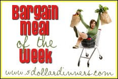BargainMealoftheWeekButton Bargain Meal of the Week   Kroger, Meijer