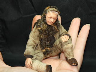 Character doll, ooak art doll, 1/12 scale