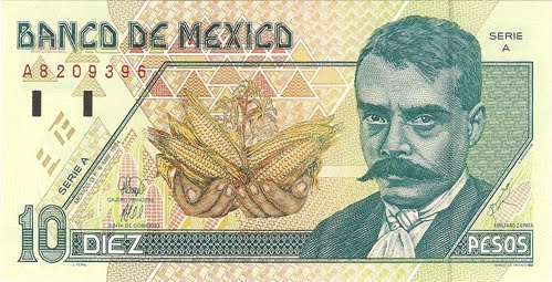 Billetes De Mexico. Los Billetes de México