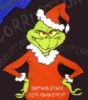 The Grinch in Daytona Beach thanks to corruption