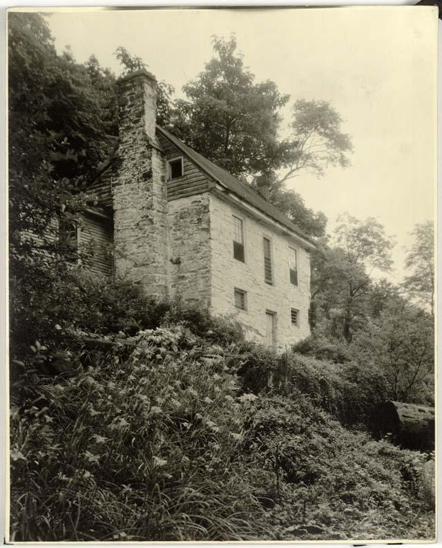 Frances Benjamin Johnston (1864-1952)<br />Johnston Mill, Albermarle County, Virginia Gelatin silver print