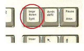 photo de la touche Impr Ecran d'un clavier