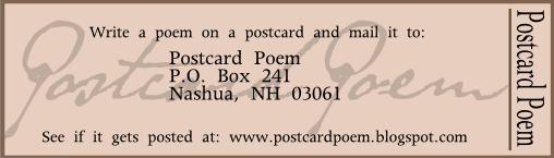 Postcard Poem
