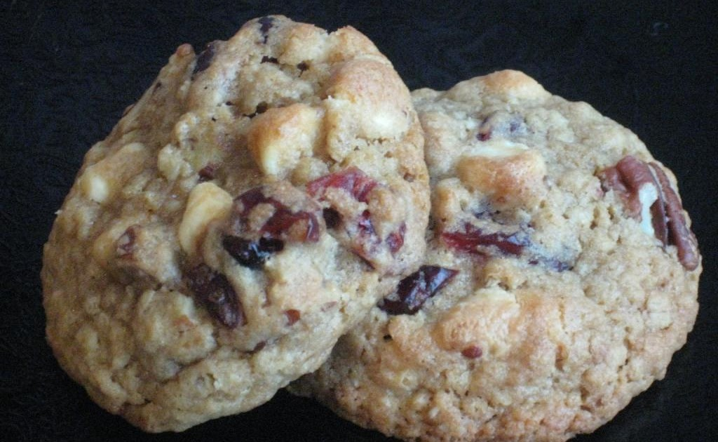 The Goddess S Kitchen Cranberry And White Chocolate Cookies