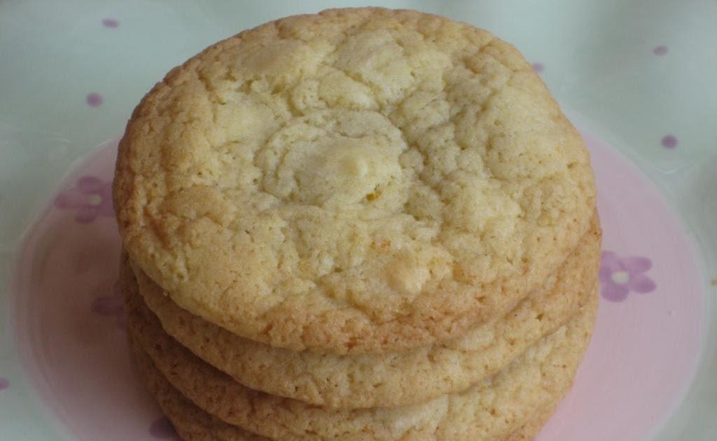 Sweet & Simple Bakes Recipes: White Chocolate & Orange Cookies