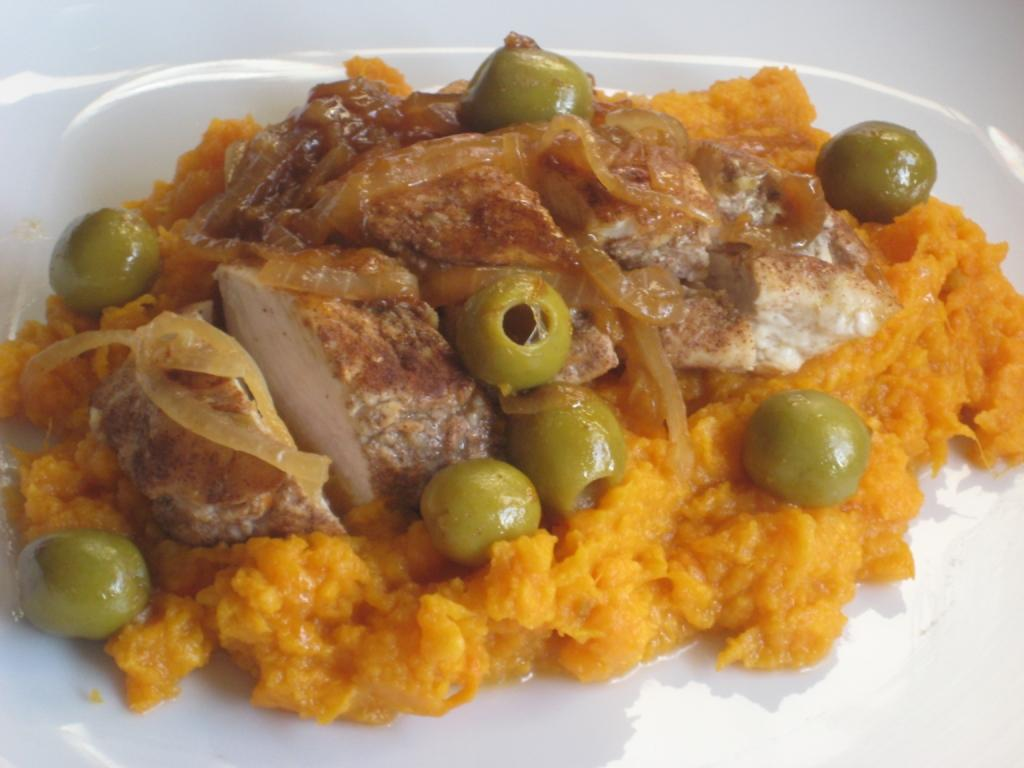 the goddesss kitchen moroccan chicken with sweet potato mash last night hubby and i enjoyed another healthy dinner moroccan chicken with sweet potato mash it is a recipe from this months good food magazine forumfinder Gallery