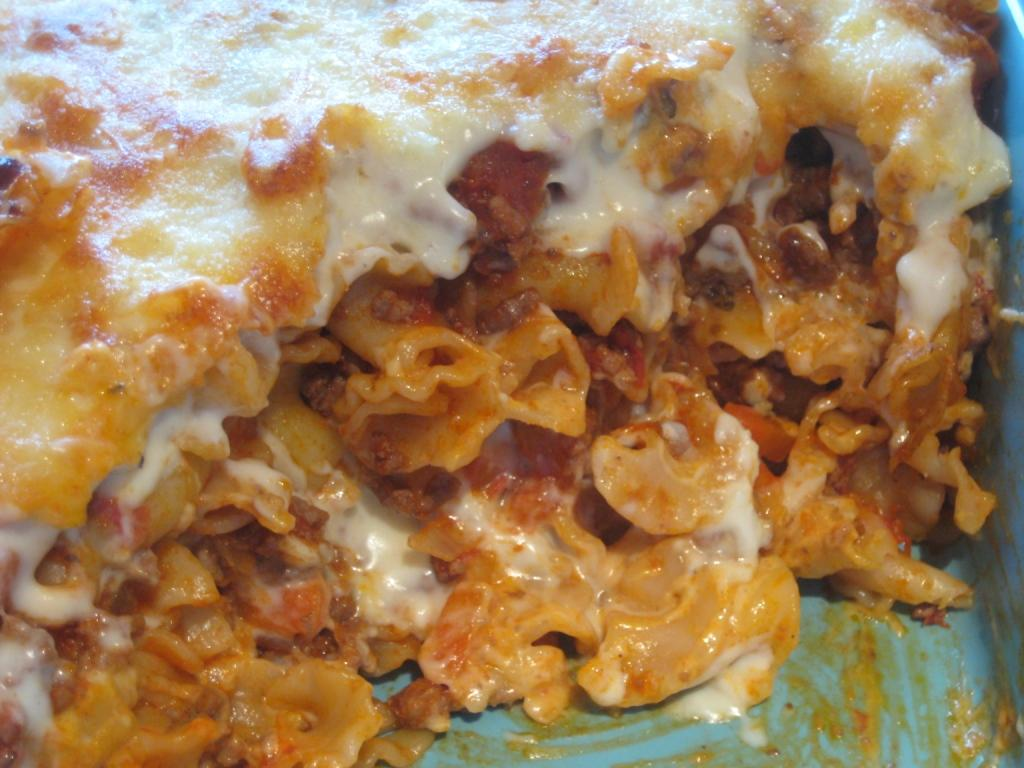 Pasta Bake (adapted)