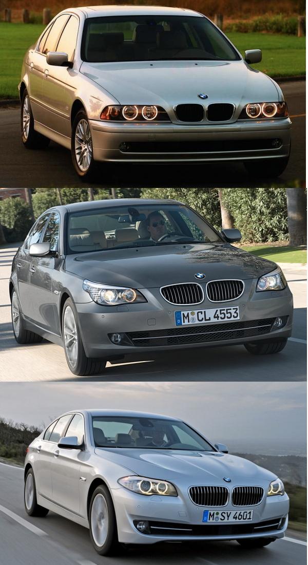 Three Generations Of Mercedes EClass BMW Series Audi A - Audi all series