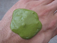 You can create a lovely facial mask with our Sencha powder tea