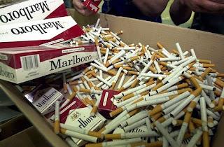 Откриха близо 100 кутии нелегални цигари в дома на пенсионерка