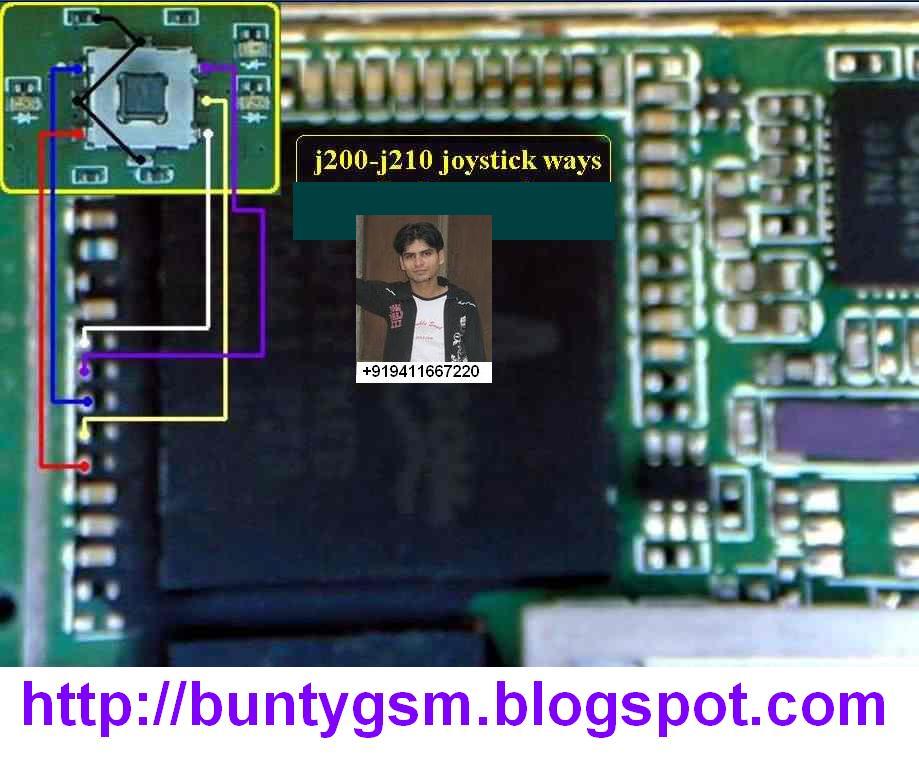 J210i Mouse Joystick Ways