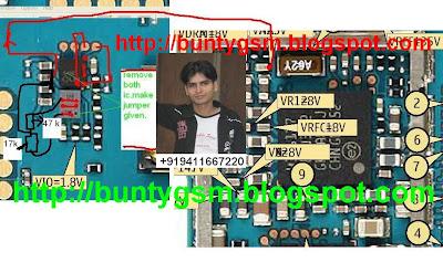 Nokia 5200 MMC Memory Card IC Jumper Solution Problem