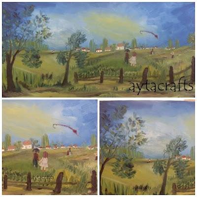 Yağlı boya ve akrilik boya çalışmalarımdan bazıları