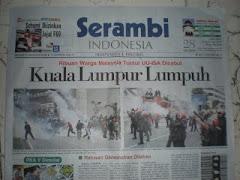 RESPONS MEDIA INDONESIA TERHADAP HIMPUNAN MEMBANTAH ISA 1.8.09