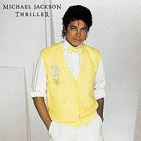 Michael Jackson's Cover to Thriller's Single