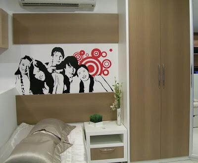 quarto jovem decorado