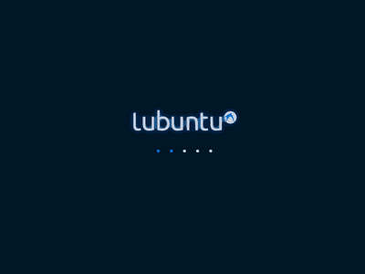 Lubuntu 10.04.1 Lubuntu-lucid-boot-splash