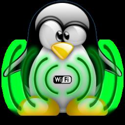 Как раздать интернет через wifi в Ubuntu Keyser-tux-wifi-logo-2300